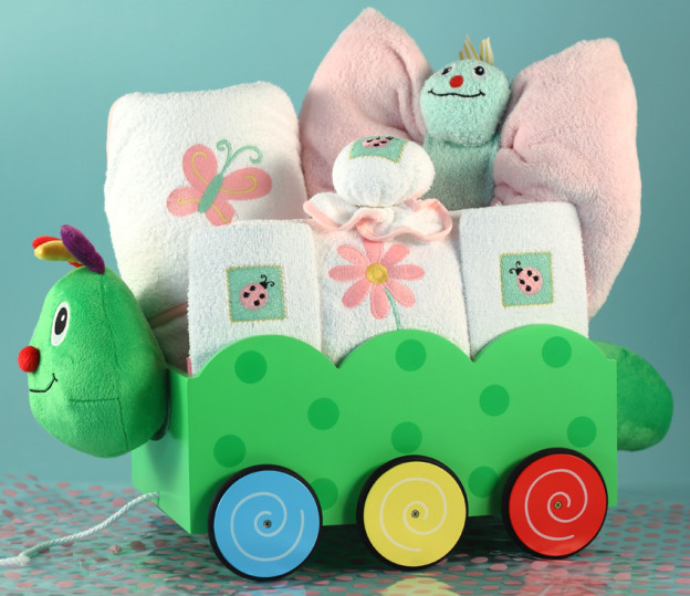 Ultimate Baby Gift-Caterpillar Welcome Wagon