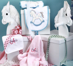 Corporate Baby Gifts customized by Silly Phillie