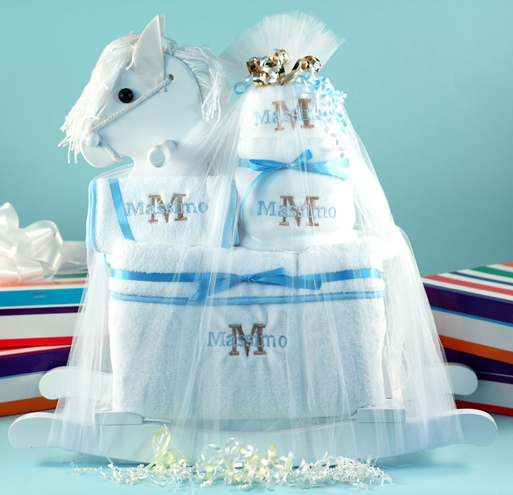 Rocking Horse Baby Gift by Silly Phillie