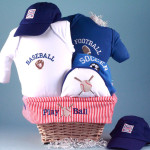 Sports Baby Gift Basket