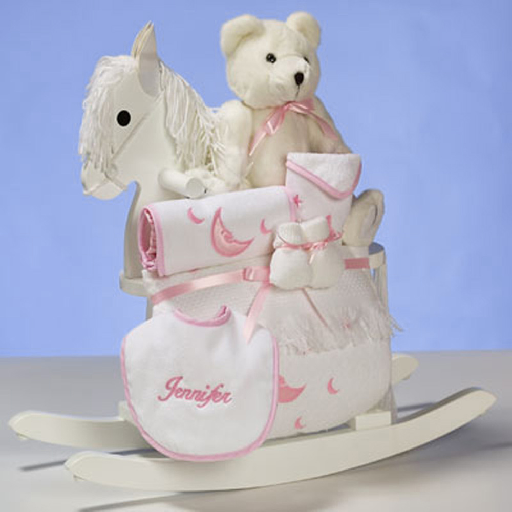 Personalized baby girl gifts archives news from silly phillie baby girl gifts personalized rocking horse layette negle