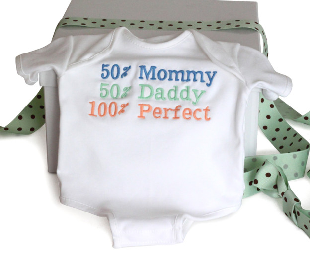 Newborn baby Onsie from Sily Phillie