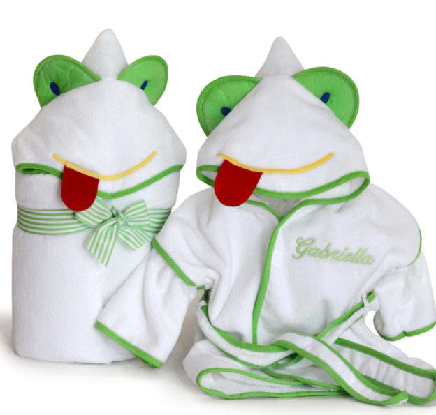 Friendly Frog Ultimate Terry Bath Time gift set