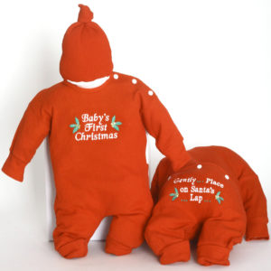 Baby's First Christmas Santa's Outfit