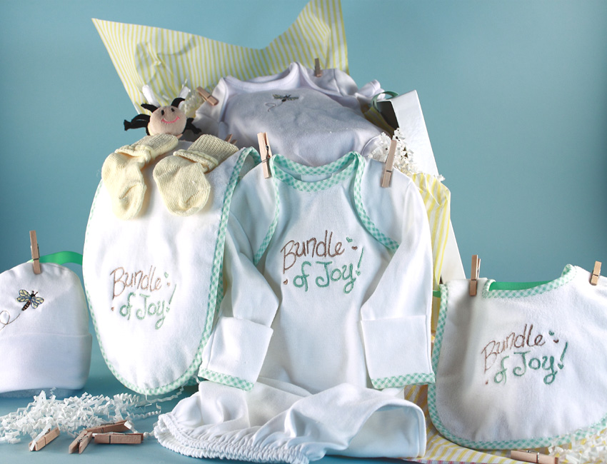 baby shower giftbaby clothesline by silly phillie, Baby shower