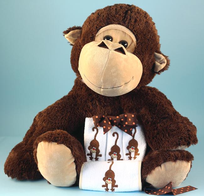 5 Little Monkeys Unisex Baby Gift Silly Phillie