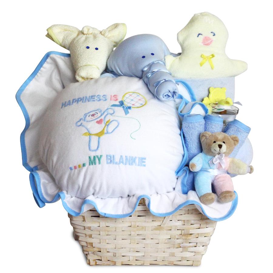 happiness baby boy gift basket
