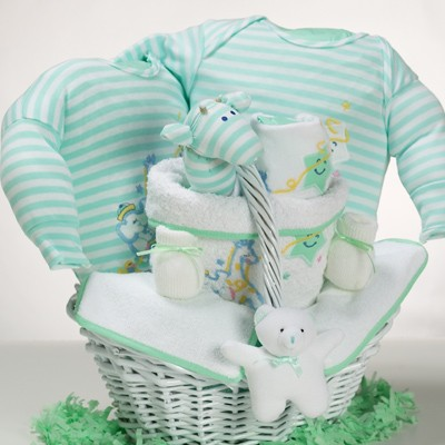 with catch a star gender neutral theme makes a great baby shower gift