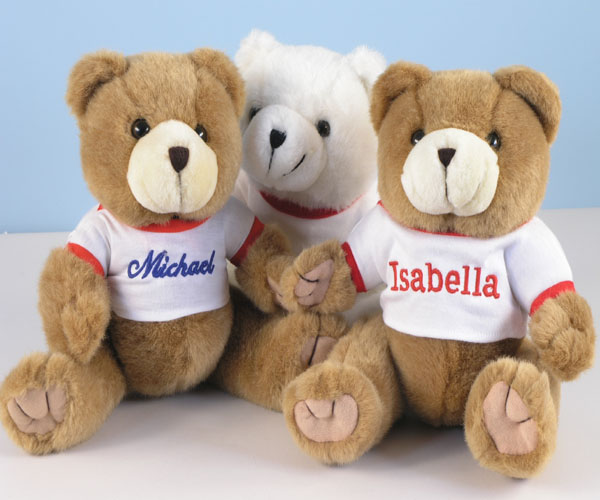 Personalized bear baby gift by silly phillie personalized bear baby gift negle Images