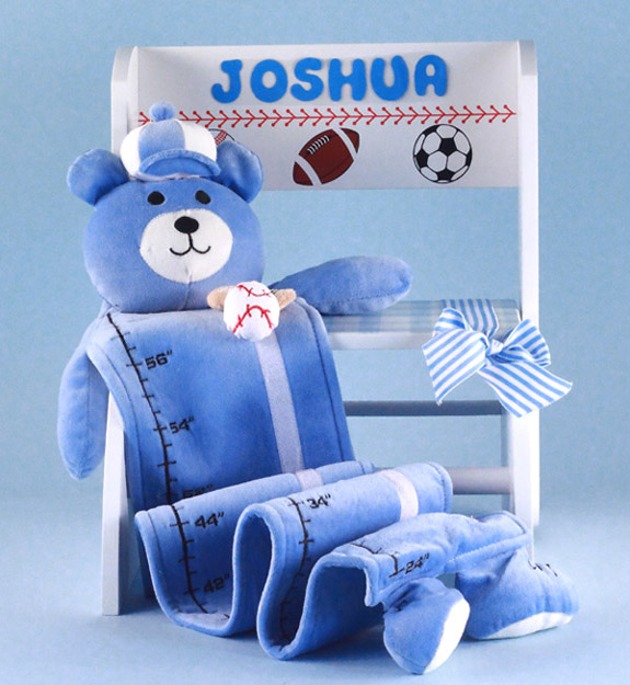 Baby Boy Gifts Newborn : Personalized baby boy gift step stool set by silly phillie