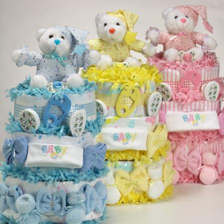 Diaper Cakes Extra Sweet Delicious By Silly Phillie