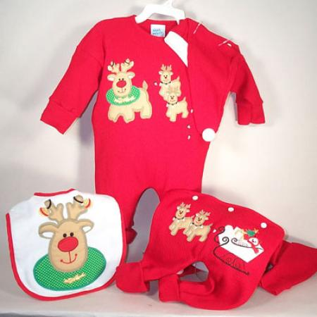 ade08753b Baby Gift for Christmas-Reindeer Outift Set-by Silly Phillie