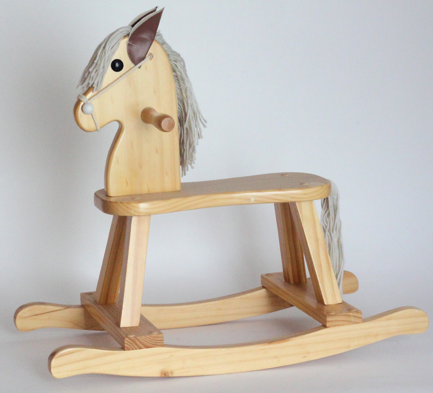 Baby girl gift personalized rocking horse gift set by silly phillie keepsake rocking horse personalized baby girl gift set negle Gallery