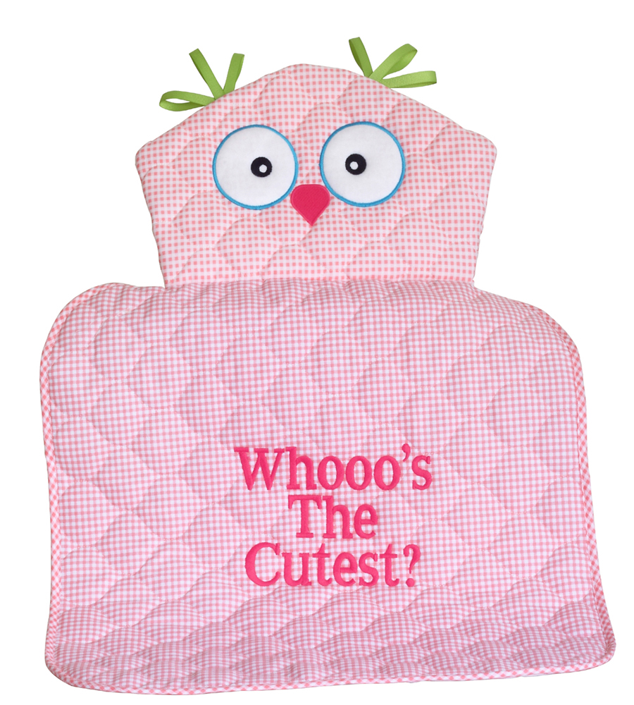Whooou0027s The Cutest Owl Changing Mat Baby Shower Gift