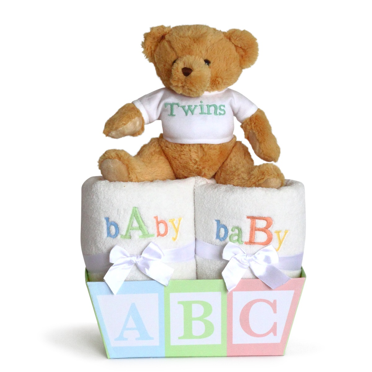 Baby Gift Sets For Twins : Baby a b gift for twins from silly phillie