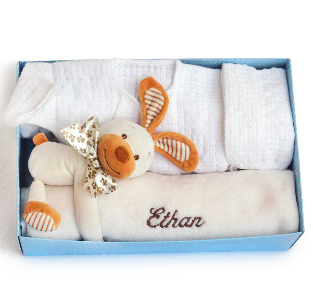 Home from the hospital personalized baby gift home from the hospital personalized baby boy gift set negle Choice Image