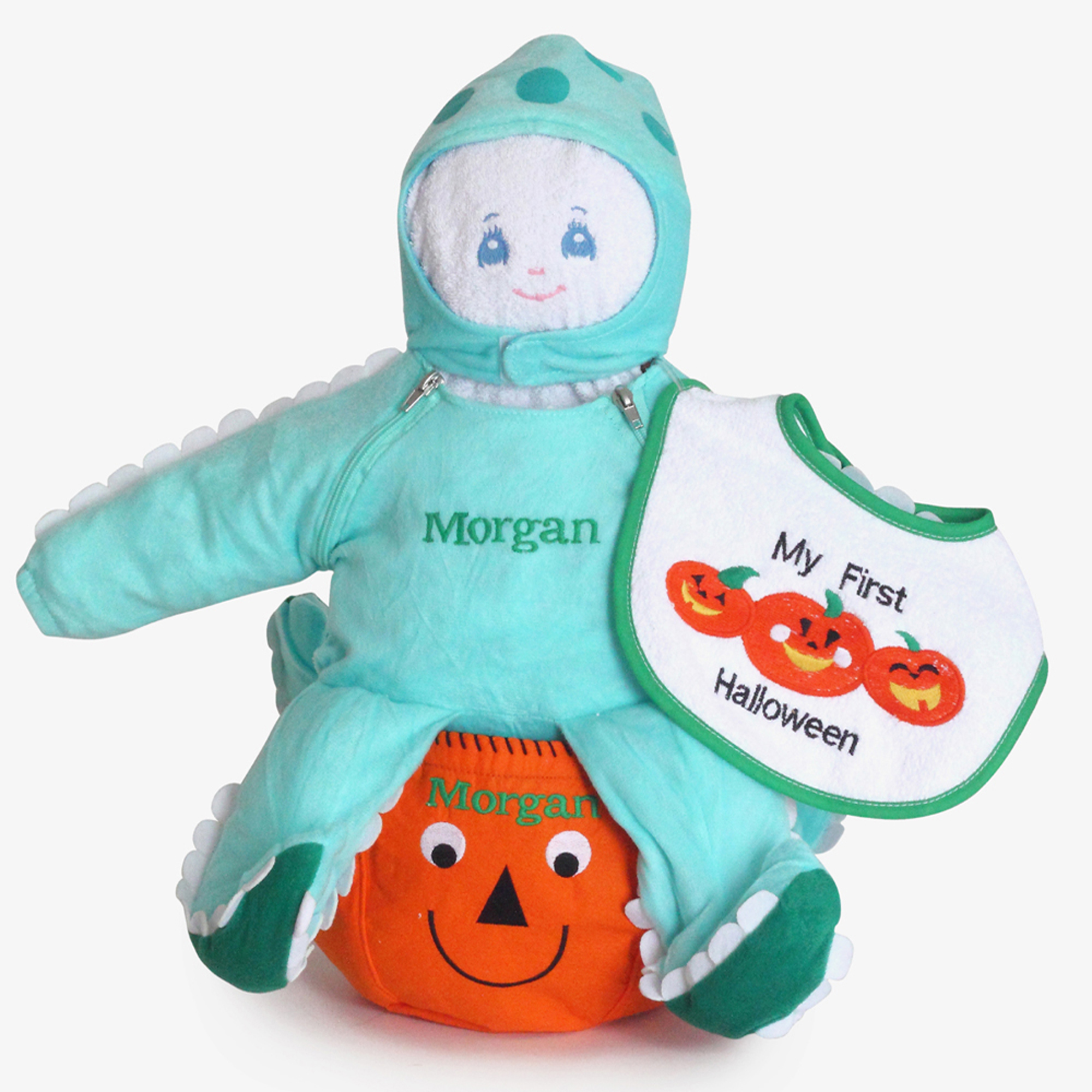 Babys First Halloween Costume Girl.Baby S First Halloween Personalized Octopus Costume Gift Set