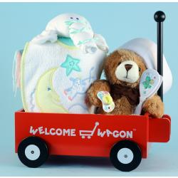 Baby Shower Gift: Welcome Wagon & Layette items for baby