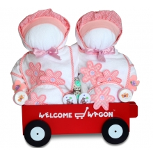 Gift for twins, Girls Deluxe Welcome Wagon