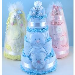 Diaper Cake Supreme baby gift for new baby boy