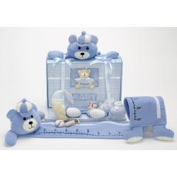 Forever Baby Book  & Growth Chart Gift Set -Boy
