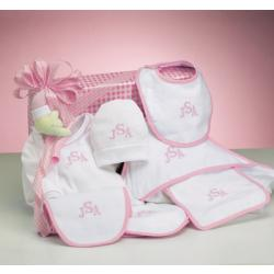 Personalized Baby Girl Gift-Deluxe Layette Baby Gift Set