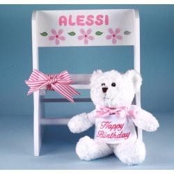 Step Stool Personalized first birthday Gift-girl