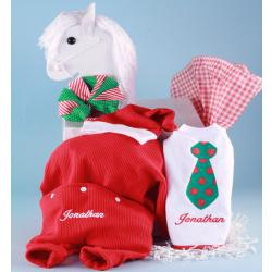 Christmas Personalized Baby Gift in Rocking Horse Gift Box
