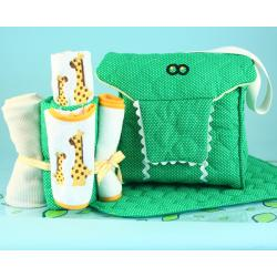 Alligator Diaper Tote Baby Gift Set