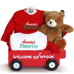Santa's Favorite Welcome Wagon Baby Gift Set