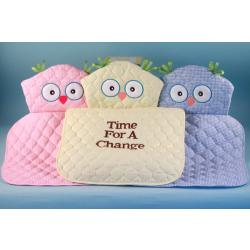 Unique baby gifts-owl changing pads