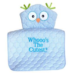 owl changing pad baby boy gift