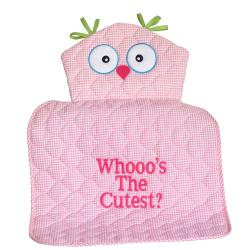 owl changing pad baby girl gift