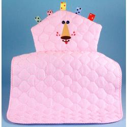Lion Character Quilted Changing Pad