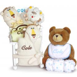 Super Deluxe Rocking Chair Personalized Baby Gift